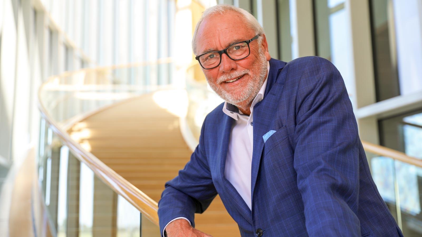 Der neue Vorsitzende des Verband Wohneigentum NRW e.V., Peter Preuß